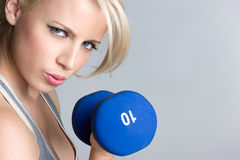 Girl Working Out Stock Photos