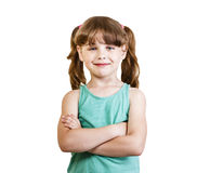 Girl 6-7 years Royalty Free Stock Photo
