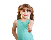 Girl 6-7 years Royalty Free Stock Photography