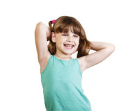 Girl 6-7 years Stock Photography