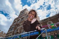 Girl in Yemen Royalty Free Stock Photos