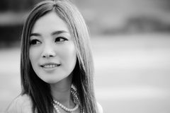Girl04 bonito asiático Foto de Stock