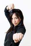 girl4 военное стоковое изображение