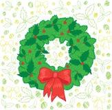 girland för 2 jul Stock Illustrationer