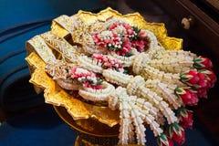 Girland för traditionsbröllop Royaltyfri Fotografi
