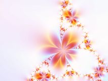 girlandę kwiatów Zdjęcia Stock