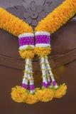 Girlanda żółty feston Zdjęcie Stock
