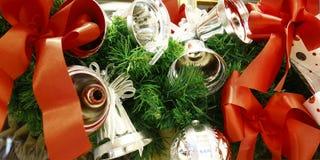 Girlanda Christmas dzwonów dekoracja zdjęcia royalty free