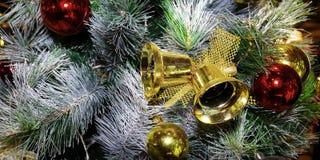 Girlanda Christmas dzwonów dekoracja obrazy stock
