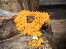 girlanda kwiaty Zdjęcia Stock