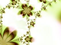 Girlande der Blumen Stockfotos