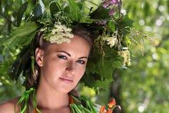 girlandflicka Royaltyfri Fotografi