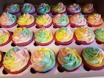 Girley cupcakes stock photo