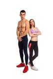Girlfriend and boyfriend in studio Stock Photo