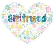 girlfriend Carte de voeux Vecteur illustration stock