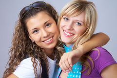 Girlfriends Royalty Free Stock Photos