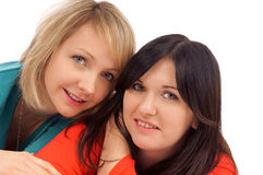 Girlfriends Stock Photography