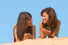 Girlfriends Royalty Free Stock Images