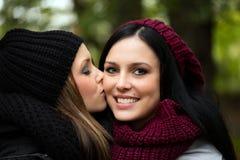 girlfriends imagem de stock