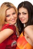 Girlfriends closeup Stock Image