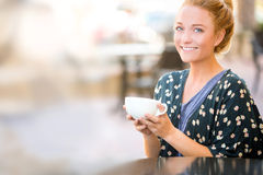 Girlfriends coffee Stock Photo