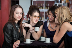Girlfriends Hang Out Royalty Free Stock Image
