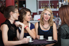 Girlfriends Hang Out royalty free stock photos