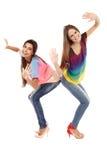 Girlfriends having fun Stock Image