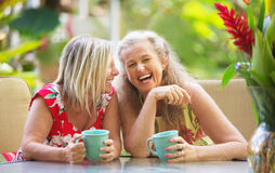 Girlfriends Laughing Stock Images