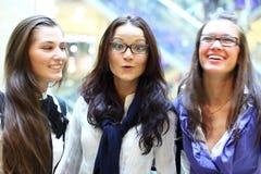 Girlfriends Meeting Stock Photos