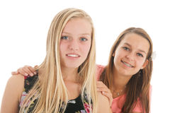 Girlfriends Royalty Free Stock Photos