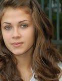 Girlie de ojos verdes Fotos de archivo libres de regalías