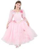 Girlie en ropa rosada fotos de archivo libres de regalías