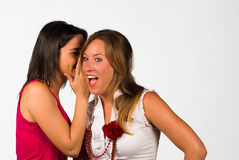 Girlie gossip Stock Images