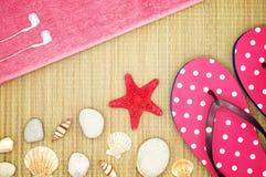 Girlish Summer Stock Image