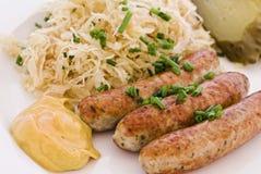 Girlled sausage Royalty Free Stock Photos
