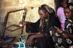 Girls, Aleg, Mauritania Stock Images