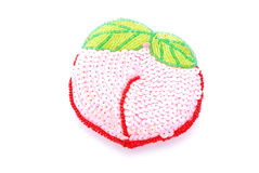 Girls apple shaped purse Stock Images
