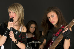 Girls Band Royalty Free Stock Image