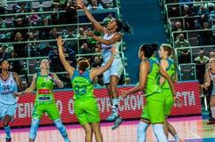 Girls basketball tournament Royalty Free Stock Photo