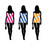 Girls in beauty dress color vector Stock Photo