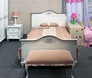 Girls bedroom interior Stock Image
