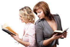 Girls with books Stock Photo