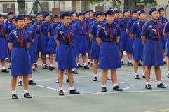 Girls' Brigade Royalty Free Stock Photo
