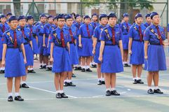 Girls' Brigade Stock Photography