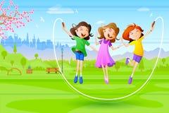 Girls celebrating Friendship Day Stock Images