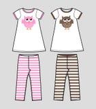 Girls clothing Royalty Free Stock Image