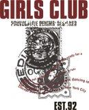 Girls club 92 Stock Photos