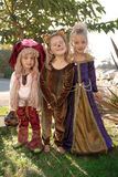 Girls costume Stock Photo
