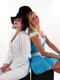 Girls in Costume Stock Image